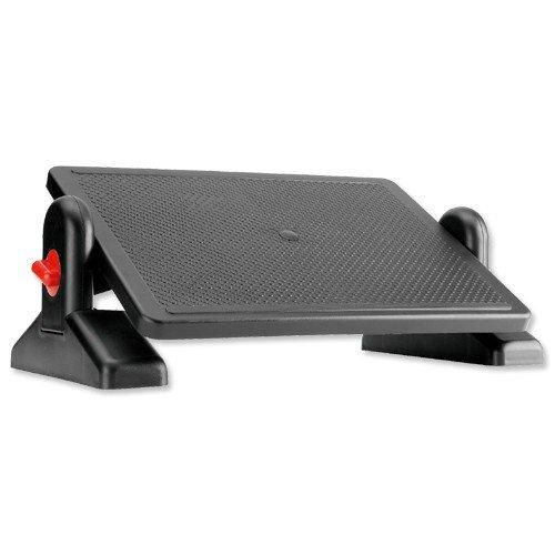 Compucessory Office Footrest ABS Plastic Easy-tilt H115-145mm Platform 415x305mm Ref CCS23750