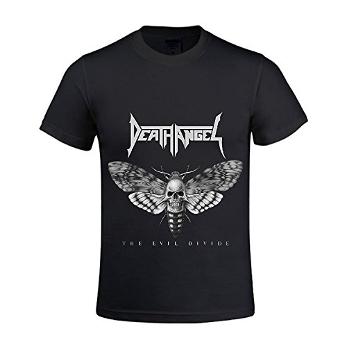 The Evil Divide Death Angel Men Crew Neck Designer T Shirts