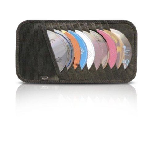 10-CD/DVD Visor Organizer