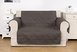 Greenland Home Saratoga Pebble Furniture Protector, Loveseat