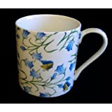 Heron Cross Pottery Large 1 Pint Mug in Harebell Motif by The China Streetby Heron Cross Pottery