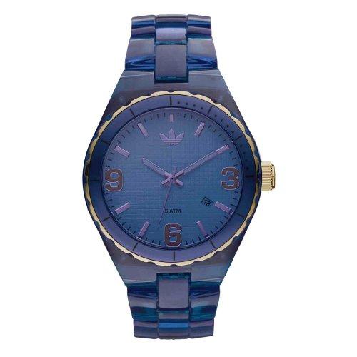 Adidas Nylon Cambridge Blue Dial Unisex watch #ADH2556