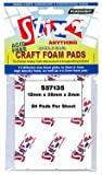 CRAFT FOAM PADS 12MM X 38MM X 2MM - 48 PER PACK
