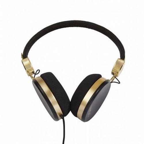 Wesc Banjo Golden Headphones (black)の写真02。おしゃれなヘッドホンをおすすめ-HEADMAN(ヘッドマン)-