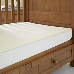 The Wool Room Fitted Lambswool Fleece Enhancer Cot Bed Size from The Wool Room