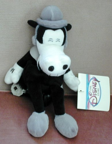 Disney's Hard to Find Horace Horsecollar in Black and White 8""