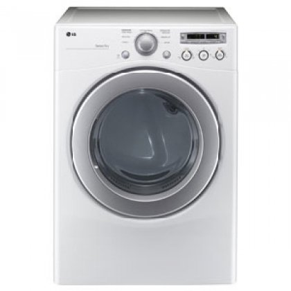 LG DLG2251 7.1 Cu. Ft. Extra Large Capacity Gas Dryer with Sensor Dry, White