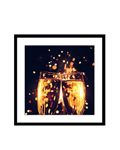 """Cheers To You"" Framed Artwork On Paper"