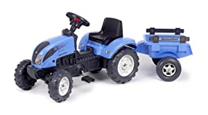 Amazon.com: Falk Landini Power Tractor and Trailer: Toys & Games