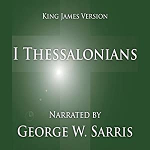 The Holy Bible - KJV: 1 Thessalonians Audiobook