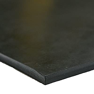 "Neoprene - Commercial Grade - 70A - Rubber Sheet - 1/4"" Thick"