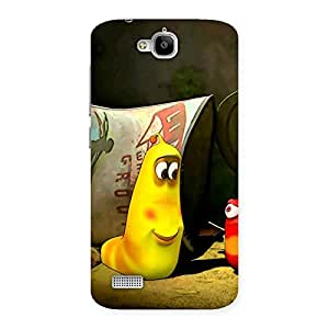 Premium Naughty Friendly Cartoon Back Case Cover for Honor Holly