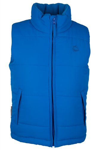Mountain Warehouse Maple Kids Childrens Padded Body Warmer Hiking Walking Gilet Bodywarmer Top Cobalt 5-6 years