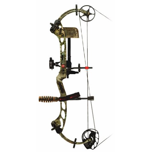 PSE 70-Pound Madness Bow Package (Left Hand)