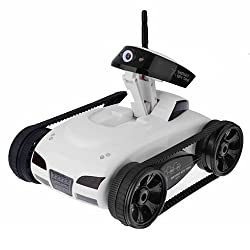 JMT Wifi 4ch Instant Spy I-spy Rc Tank Car Controlled By Iphone Android Mobile Phone w/ Live Video Camera Function
