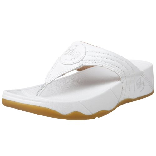 234799771881ac FITFLOP 030 Ladies WALKSTAR 3 Leather Sandal Shoe FitFlops  Oyster  UK 3