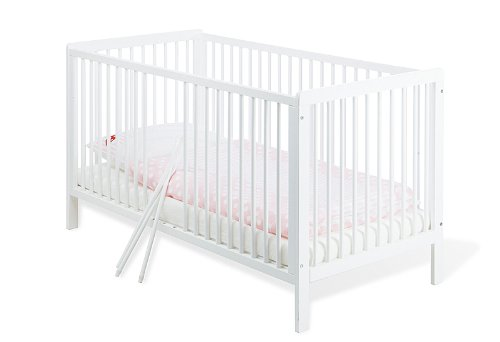 Pinolino-11-14-75-Kinderbett-Lenny-140-x-70-cm-mit-3-Schlupfsprossen-aus-vollmassiver-Kiefer-wei-lackiert