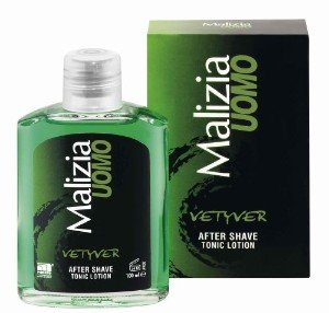 Malizia Uomo Vetyver Aftershave Tonic 100ml