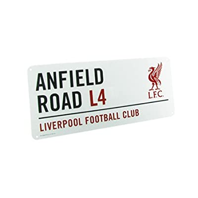 Liverpool Anfield Road Street Sign (40 x 18 cm)
