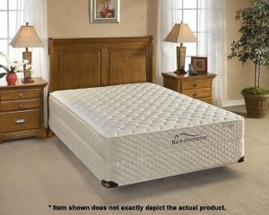 Back Supporter Merit Extra Firm Queen Mattress Set