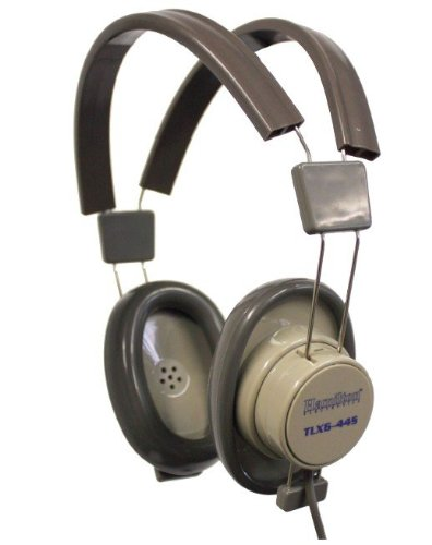 Hamilton Electronics And Buhl Tlx6-44S Deluxe Heavy Duty Classroom Stereo Headphone With Replaceable Cord