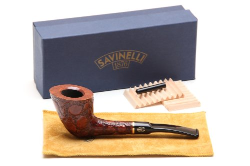 Savinelli Alligator Brown 904 Tobacco Pipe