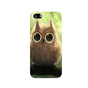 TAZindia Printed Hard Back Case Mobile Cover For Apple Iphone 5 5s