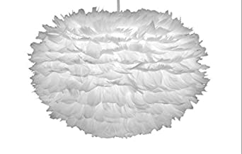Vita Eos Feather Lamp Shade 17 7 Quot X 11 8 Quot Ceiling Fan