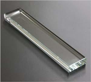 クリスタル文鎮 角型 310g 4×1.5×21cm
