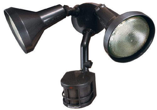 Heath Zenith HD-9250-BZ-C 270 Degree Journeyman Motion Sensing Security Light with Shields, Bronze