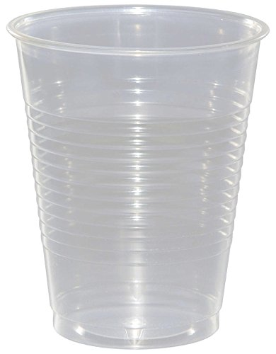 Creative Converting Value Pack Plastic Cups, Clear, 50-Count