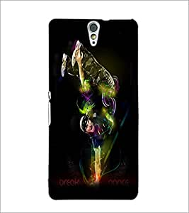 PrintDhaba Break Dance D-1177 Back Case Cover for SONY XPERIA C5 ULTRA (Multi-Coloured)