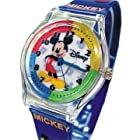 DISNEY WRIST WATCH FOR YOUTH MICKEY MOUSE IN PEN/GLASSES CASE. LARGE TABLE.9 BAND.JAPAN QUARTZ MOVEMENT. FREE & FAST US SHIPPING.