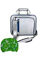 Sumaclife Apple Macbook Pro 13 Inch Bag Macbook Pro Carrying Case (Blue-Silver) + Tm Wisdom Courage Wristband