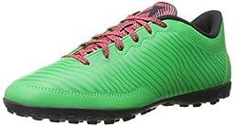 adidas Performance Men\'s X 15.3 Soccer Shoe, Flash Green S15/Flash Red S15/Dark Grey, 10 M US