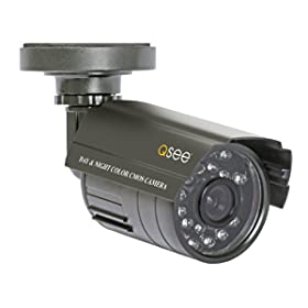 Digital Peripheral Solutions Q-See QS408-811-5 8 Channel H.264 DVR with 8 Indoor/Outdoor Cameras and 500GB Hard Drive