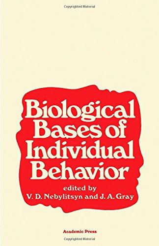 Biological Basis of Individual Behaviour