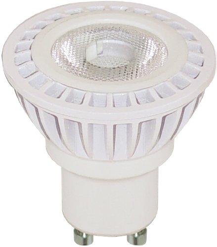 Satco S9009 4 Watt (35 Watt) 240 Lumens Mr16 Led Daylight White 5000K 36 Beam Pattern Light Bulb, Dimmable