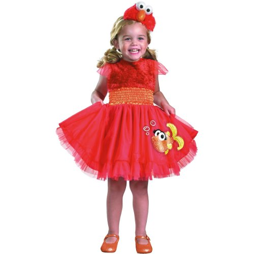 Frilly Elmo Costume - Toddler Large