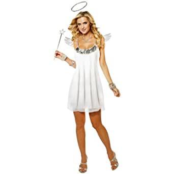 Babydoll Angel Adult Women's Costume