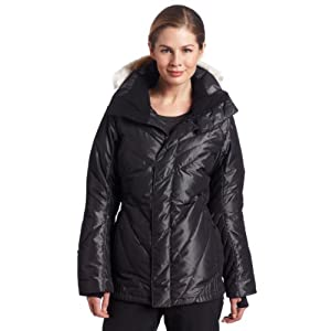 Oakley Women's Puffed Jacket (Black, X-Small)