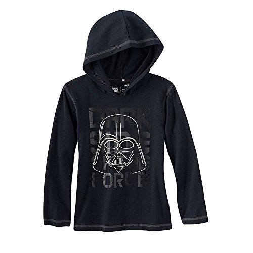 Star Wars Darth Vader Glow In The Dark Hoodie Big Boys' Medium (5-6)