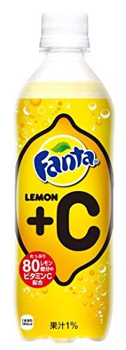 コカ・コーラ ファンタ レモン+C 490ml PET×24本