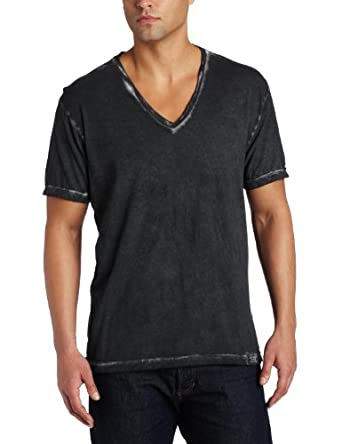 Calvin Klein Men's Cold Pigment Spray Shirt, Black, Small