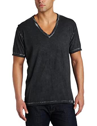 Calvin Klein Men's Cold Pigment Spray Shirt, Black, Small