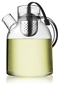 Menu 1-1/2-Liter Kettle Teapot, Glass with Tea Egg