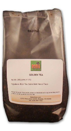 Bubble Boba Golden Tea Leaves, 240 Grams Bag
