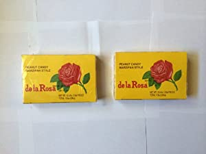 Amazon.com : De La Rosa Mazapan, Marzipan Peanut Candy, 2