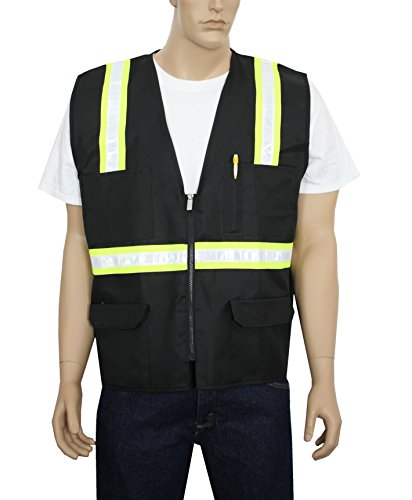 safety-depot-two-tone-reflective-surveyor-safety-vest-with-zipper-and-pockets-hi-vis-for-constructio