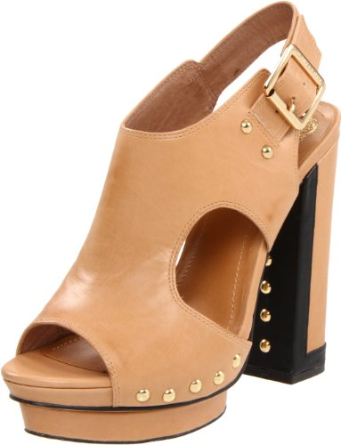 Vince Camuto Women's Pabla Sandal,Brown Sugar/Black,7.5 M US